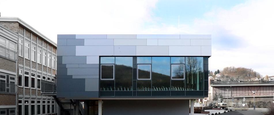 Wilhelm-von-Oranien-Schule, Neubau Verwaltung